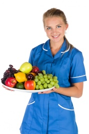 nurse-and-a-bowl-of-fruit-147142216288c